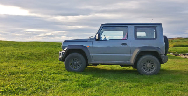 The 2019 Suzuki Jimny in Iceland