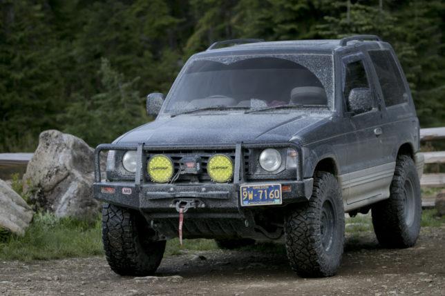 1991 Mitsubishi Pajero in BC Canada