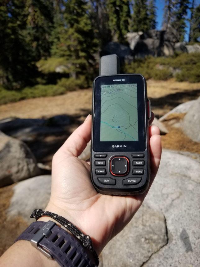 Garmin-GPSMAP-66i-in-Yosemite-National-Park