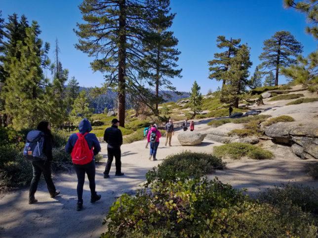 Hiking-in-Yosemite-National-Park
