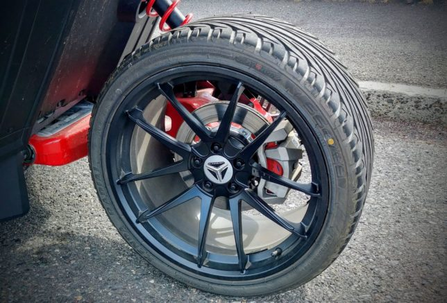 Polaris Slingshot rear wheel