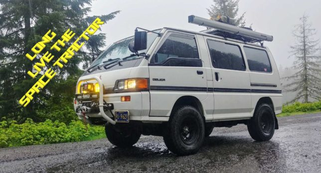 Space Tractor - 1989 Mitsubishi Delica Star Wagon L300