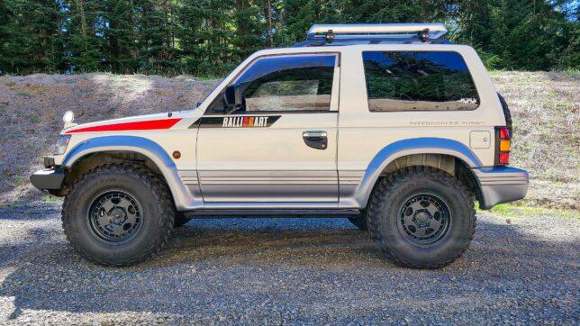 1992 Mitsubishi Pajero with D4BF swap