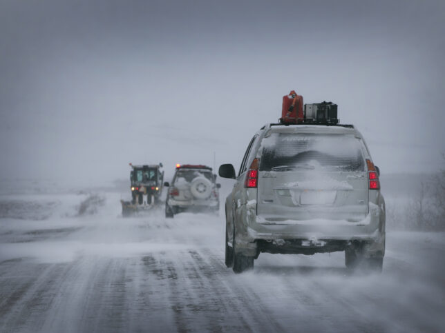 Driving the Dempster Hwy before it closed
