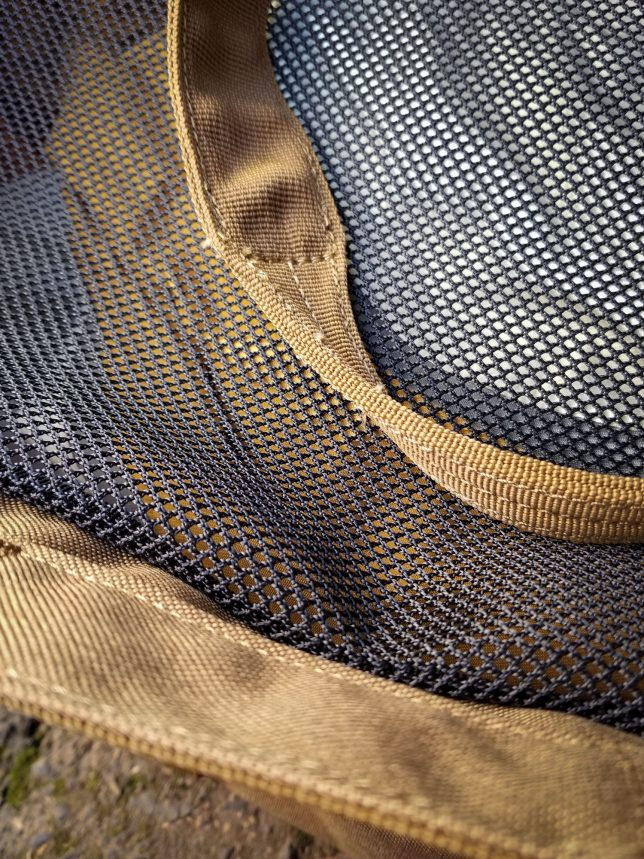 5.11 Tactical 39L large utility bag mesh detail