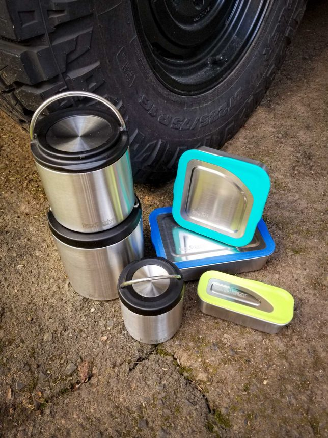 Klean Kanteen Food Boxes and TK Cansiter sets