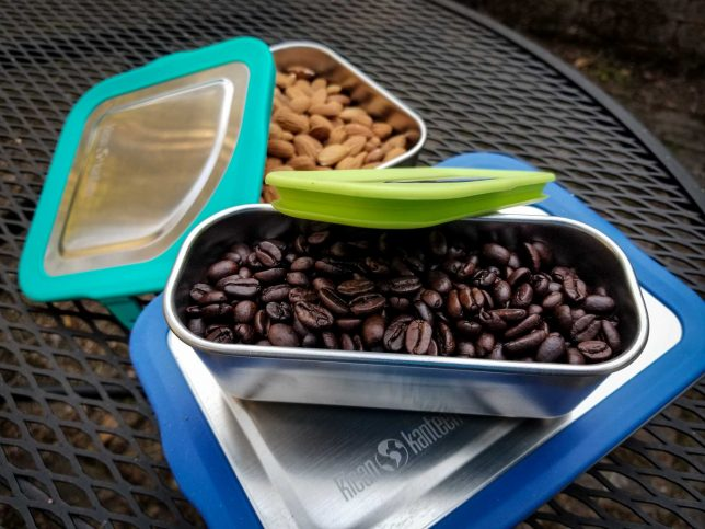 Klean Kanteen Food Boxes with food
