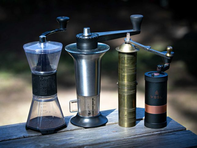 The VSSL Java vs. other manual coffee grinders.