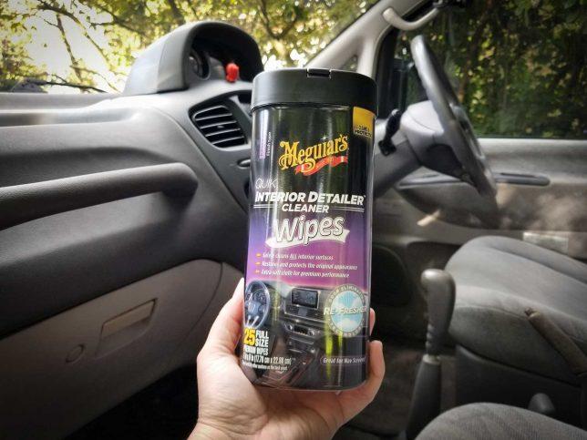Meguiar's Quik Interior Detiler  Cleaner Wipes